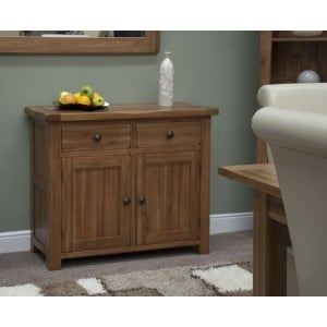 Homestyle Rustic Style Oak Furniture Small Sideboard
